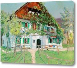 Картина Дом в летнем свете