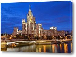 Высотка МГУ. Москва.