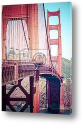Постер Золотой мост,Сан франциско