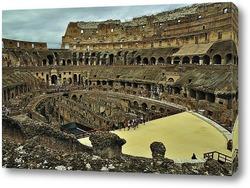 Постер Колизей. Рим. Италия.