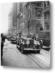 Строительство Крайслер билдинг 1929г.