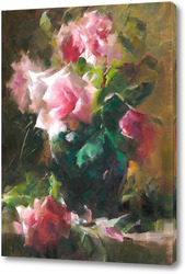 Картина розы 3 by F. Mortelmans