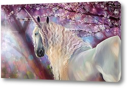 Картина Единорог и весна