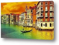 Венеция.Эффект сепия