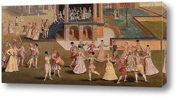 Постер Картина художника XVII века