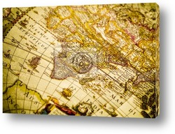 Постер World Antique Map