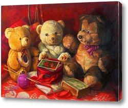 Картина Три Мишки