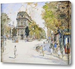 Постер Бульвар Сен-Мартен, Париж