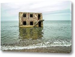 Постер Здание в Балтийском море