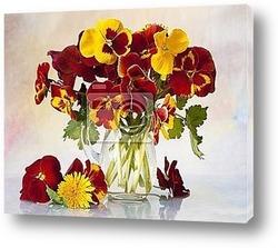 Pansies bouquet