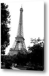Эйфелева башня вид на реку