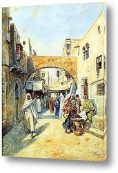 Картина Базар в Марокко