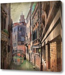 Постер Венецианская улочка