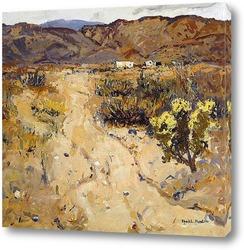 Картина На пустынной дороге