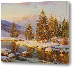Постер Зимний закат, 1938