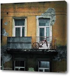 Постер Урбанометрия. Геометрия пространства. Балкон.