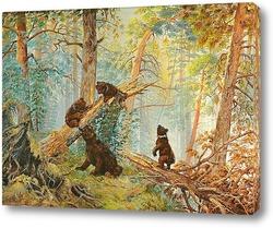 Картина Три медведя
