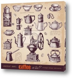 Постер  Кофе или чай?