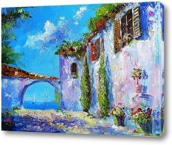 Село Портофино на Лигурийском побережье
