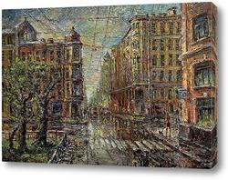 Картина Малый на Петроградке