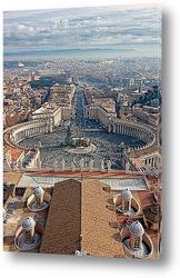 На площади в Ватикане