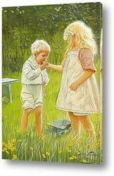 Постер Дети