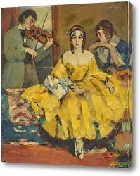 Картина Романтичный кавалер