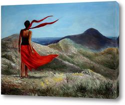 Картина На ветру