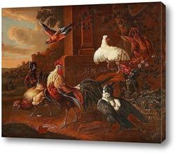 Натюрморт с курицей