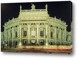 Здание Государственной Венской оперы,1940-е..