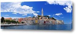 Постер Хорватия. Ровинь