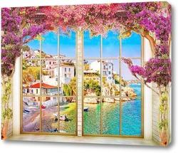 Постер Набережная солнечной Сицилии