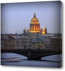 Постер Санкт-Петербург. Исаакивеский собор