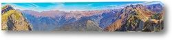 Панорамный вид с горнолыжного комплекса