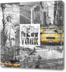 Постер Каменные джунгли Нью-Йорка