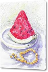 Картина Арбуз и янтарь