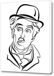 Картина Чарли Чаплин.