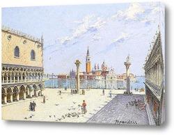 Ла Пиазетта.Дворец Дожей Венеция