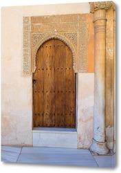 Постер Маленькая дворцовая дверь
