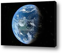 Постер Earth -high resolution