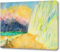 Картина Меловые скалы