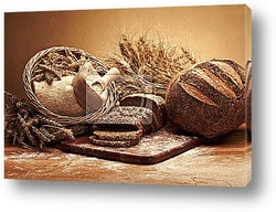 Постер Traditional bread