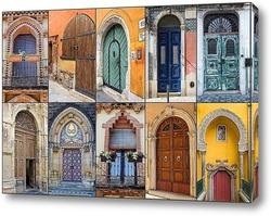 Картина Арочные двери
