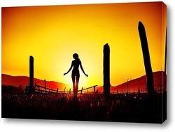 Постер Солнечное затмение