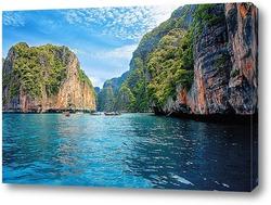 Постер Скалисты берег Таиланда