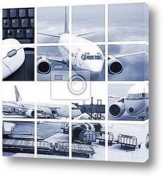 Постер Air transport