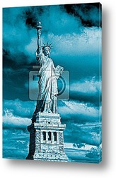 Постер Statue of Liberty. New York, USA.