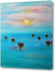Постер Безмятежное море