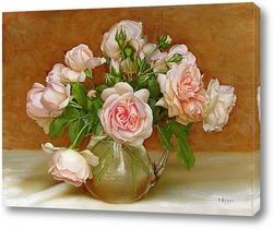 Картина Розовая симфония