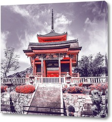 Постер Храм в Киото